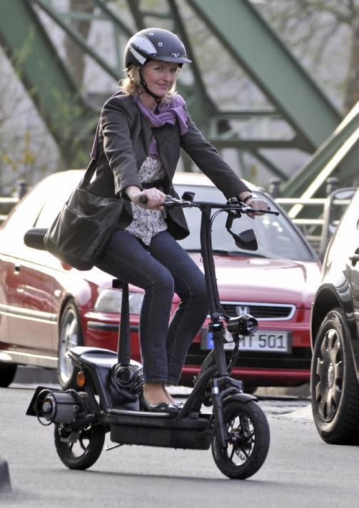 Moderne moped, elscooter, elmoped, el scooter, el-ATV, ATV, Elektrisk NM-61